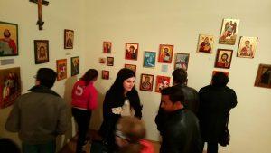 Ikonfestő kiállítás